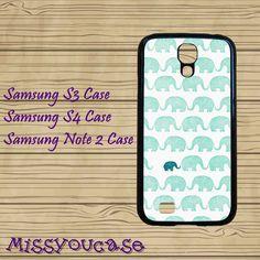Samsung Galaxy Note 3,Samsung galaxy S3,Samsung galaxy S4,Samsung Galaxy Note 2,cute Samsung S4 Case,elephant,cool S4 case.galaxy s3 case. by Missyoucase, $14.95