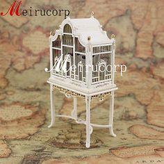 Fine-1-12-scale-dollhouse-miniature-furniture-well-made-handmade-grand-birdcage