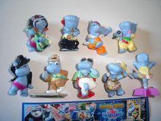Kinder Surprise Set Happy Hippos Talent Show 2009 Figures Collectibles | eBay