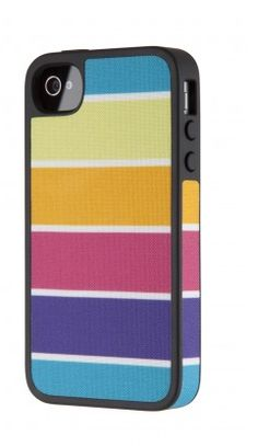 Hey, look - it's one of our rainbow-hued iPhone 4 cases!