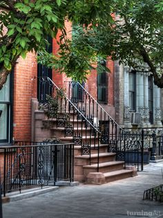 NYC. Greenwich Village. Nice place to live in // by Livermore artist Danny Anderson.