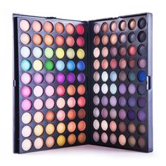 Ingredient:Mineral Color:120 Full Colors Size:25cm x 17cm x 5cm Quantity:1 Set NET WT:402 g Type:Eye Shadow Please allow 2-3 weeks for the product to arrive. #makeuphack