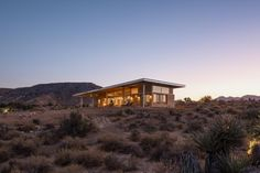 Architect Jeremy Levine's sustainable home, theCowboy Modern Desert Eco-Retreat, is stylish, contemporary and entirely off grid in the California desert Grey Water Recycling, Yucca Valley, Surf House, Swedish House, Desert Homes, Travel And Leisure, Residential Architecture, Renting A House, New Homes