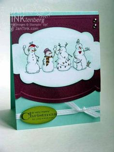 Frosty Friends by JanTInk - Cards and Paper Crafts at Splitcoaststampers
