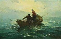 gray, jack lorimer the heavy ne Charles Napier, Boat Art, Ink Illustrations, Seascape Paintings, Old Master, Impressionist, Painting & Drawing, Art History, Oil On Canvas