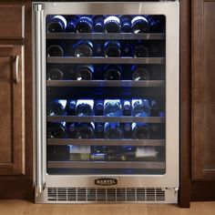 Marvel Professional Dual Zone Wine Refrigerator