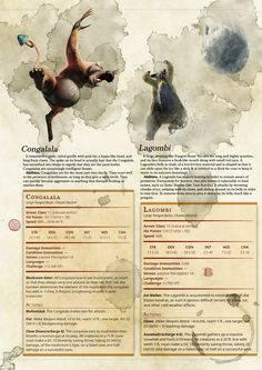 Dungeons And Dragons Classes, Dungeons And Dragons Homebrew, Mythological Creatures, Fantasy Creatures, Gerardo Gonzalez, Dnd Druid, Beast Creature, Dnd 5e Homebrew, Dragon Rpg