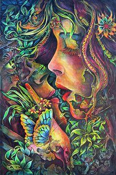 P. John Burden, Arte, Bellas Artes, artista, pintor, ilustrador, Vidriera de colores