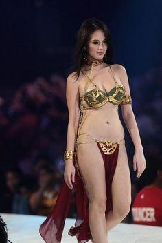 Ellen Adarna as Slave Leia