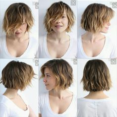 Short hair, we do not need to dry it. The goal is that after the shower you can simply wring a little hair with a towel, apply a care product or styling and leave… Continue Reading → Sophia Bush Short Hair, Pelo Midi, Hairstyles Haircuts, Sophia Bush Hairstyles, Short Hairstyles For Women, Cut My Hair, Short Hair Cuts, Short Medium Hair Styles, Hair Today