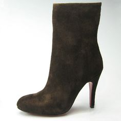 Christian Louboutin Coffee Boots 3