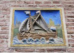 Gevelsteen Zeilboot, Smeepoortbrink