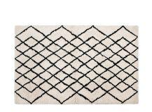 Fes, tapis tufté 120 x 170 cm, blanc cassé