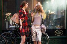 Street fashion z Copenhagen Fashion Week wiosna lato 2016