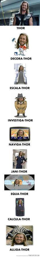 Thor Thor Everywhere.