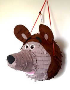 THE BEAR Masha and the Bear pinata birthday por PinjateNoviSad