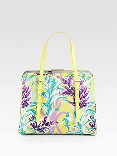 Adorably Retro: Kate Spade New York Margie Tote Bag #katespade #tropical
