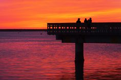 Fiery Sunset at Oceanside Harbor - April 10, 2015 by Rich Cruse on 500px