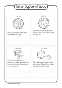 Space: Solar System Facts 3 - e-classroom