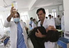 Mueren niños sirios tras ataque químico, fuerzan a Trump - http://www.notimundo.com.mx/mundo/ninos-sirios-ataque-quimico-trump/