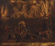 The Massacre of the Huguenots at Vassy, Champagne  c.1562-1600