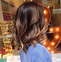 INSPO TRENDY HAIR: BOB BROWN & BALAYAGE Después de nuestro color sin amoníaco así de brillantes quedan nuestras melenas con nuestro tratamiento ELÁSTIC con Ginseng y Keratin de TRENDY HAIR!!!!!!! @trendyhair #anarabyanalerida #trendyhair