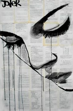 "Saatchi Online Artist Loui Jover; Drawing, ""emotion"" #art"