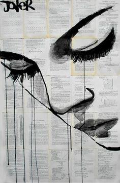 "Saatchi Online Artist Loui Jover; Drawing, ""emotion"" #art"