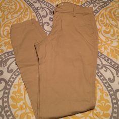 Khaki skinny chino Khaki skinny leg chino pants Old Navy Pants Skinny