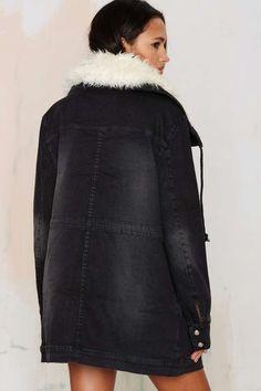 Somedays Lovin Thrills Denim Parka - Sale: 30% Off   Jackets + Coats