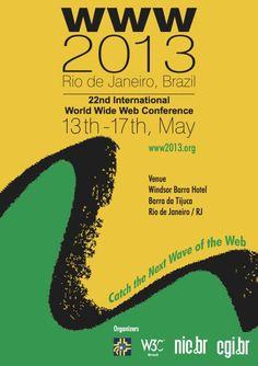 Conferência WWW2013 - Rio de Janeiro - Brasil