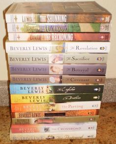 Beverly Lewis books! Read all of these and then some. Never disappointing.