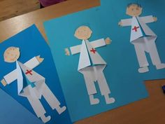 Crafts For Kids To Make, Christmas Crafts For Kids, Art For Kids, Police Crafts, Community Helpers Preschool, Arts And Crafts, Paper Crafts, Sculpture Projects, Christmas Paintings