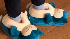 These Adorable Snorlax Slippers Will Make You Squeal with Joy | Geek Culture