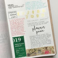 9.26 & 27 in my #stalogy #artjournal by planneraddict727