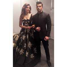Bipasha Basu and Karan Singh Grover were at their fashionable best on the green carpet of IIFA. Bipasha donned a beautiful Sabyasachi saree that features floral embroidery all over the net fabric. She paired her look with Aurelle by Leshna Shah jewellery and Garema Official Couture customized clutch. Karan Singh Grover looked all dapper in …