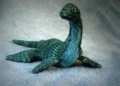 Loch Ness Monster by Hansi Singh in malabrigo Rios, Aguas colorway.
