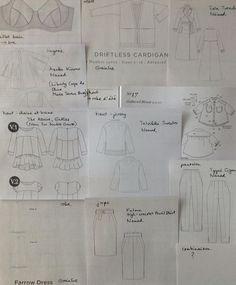 #jecoudsmagarderobecapsule2017  @clo_piano  Maillot bain- Shelley Bra Veste -#driftlesscardigan  Manteau- #islatrenchcoat Lingerie- #asakakimono  Haut chaine et trame- #theazaire  Haut jersey- #talvikkisweater  Chemise-gathered blouse (She wears the pants) Robe- #farrowdress  Jupe-#pulmuskirt  Pantalon- #tyynitrousers  Short- Je vais coudre une robe d'été…