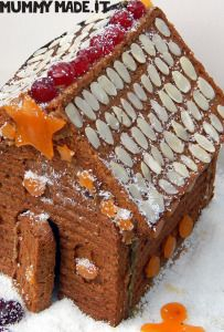 Gingerbread House | http://mummymade.it/2013/12/gingerbread-house.html
