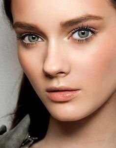 Le maquillage naturel orangé