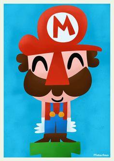 Mario by Pintachan