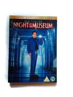 Night at the Museum coptic journal reworked DVD box by FuNkTjUnK