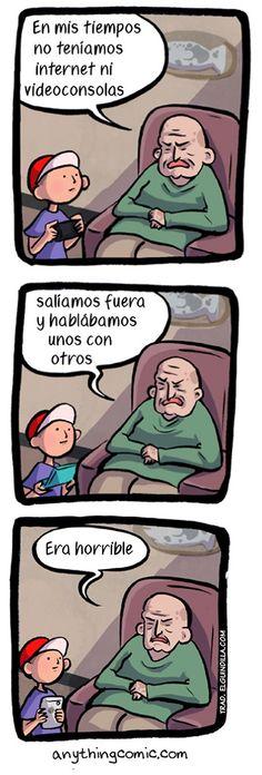#humor #NoSeNosEstaraYendoDeLasManos #cebancesfuturo @CEBANC No teníamos Internet