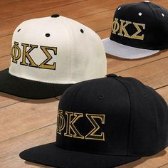 8062a207 Phi Kappa Sigma Classic Snapback Cap - Yupoong 6089 - EMB Embroidered  Clothes, Embroidered Caps