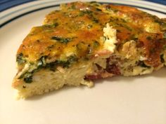A good quiche is like a needed warm embrace. and I love quiche and it is so easy to make! You can pretty much put whatever you want into a quiche, so it can be very inexpensive to make as well. Breakfast Quiche, Paleo Breakfast, Breakfast Dishes, Breakfast Recipes, Quiche Recipes, Entree Recipes, Brunch Recipes, Brunch Ideas, Dinner Ideas