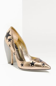 these aren't my favorites, but i love the shoes from this collection! me? love stars? Dolce 'Stars' Platform Pump
