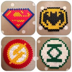 perler bead pattern superhero - Google Search