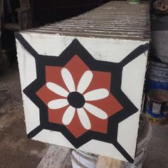 Diseño: Jardín 25 x 25cm #decoración #artesanal #artesania #arquitectura #mosaico #lagunamosaicos #interiorismo #design #diseño #tiles #tileaddiction #pisos by lagunamosaicos