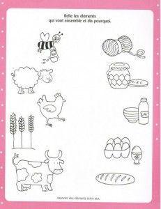 printable farm animal worksheet for kids (1) | Crafts and Worksheets for Preschool,Toddler and Kindergarten