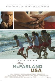 4 Stars - Inspiring - McFarland USA may be a small town in California's Central Valley, but it is ground zero for the feel good movie of 2015.  This is a story on many levels of ...